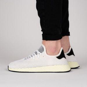 [Adidas] Deerupt Runner Chalk White/Black/White